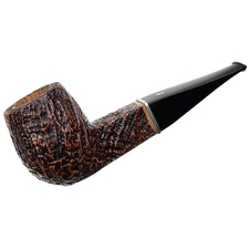 Ser Jacopo Sandblasted Billiard with Silver (S2)
