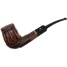 Ser Jacopo Rowlette Rusticated Bent Billiard (Maxima)
