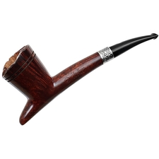 Ser Jacopo Calumet Smooth Bent Dublin with Silver (3) (L1)
