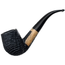 Ser Jacopo Sandblasted Bent Billiard (S1)