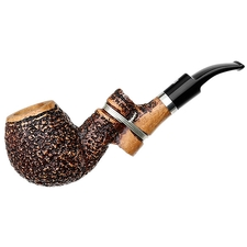 Ser Jacopo Insanus Rusticated Bent Apple with Silver (R1) (1) (9mm)