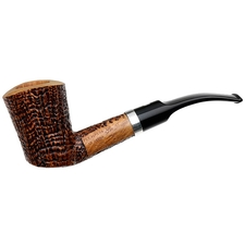 Ser Jacopo Picta Picasso Sandblasted Bent Dublin with Silver (10) (S2)