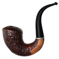 Ser Jacopo Insanus Sandblasted Bent Dublin Sitter with Silver (S2) (D) (8)