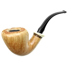 Tonni Nielsen Smooth Bent Dublin with Tooth and Black Palm (Viking)