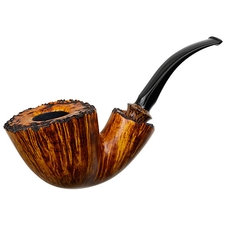 Tonni Nielsen Smooth Bent Dublin with Plateau and Black Palm (Viking)