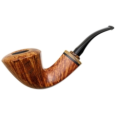 Tonni Nielsen Smooth Bent Dublin with Blackwood and Olivewood and Black Palm