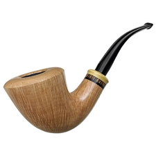 Tonni Nielsen Smooth Bent Dublin with Boxwood and Palm Wood (Viking)
