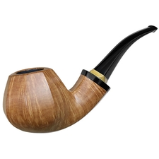 Tonni Nielsen Smooth Paneled Bent Brandy with Boxwood (Viking)