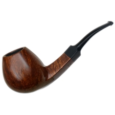 Tonni Nielsen Smooth Diamond Shank Bent Brandy