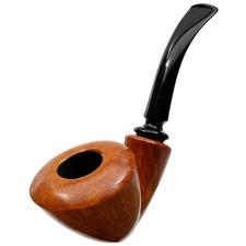 Tonni Nielsen Smooth Freehand Bent Dublin Reverse Calabash (Viking)