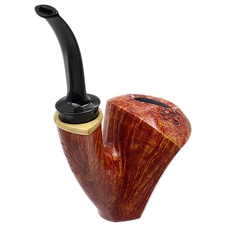 Todd Johnson Smooth Bent Dublin Sitter with Boxwood (Hoplite)