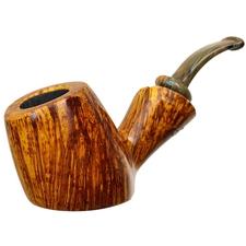 Neerup P. Jeppesen Handmade Ida Easy Cut Sandblasted Bent Pot (3)