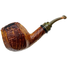 Neerup Classic Sandblasted Paneled Bent Brandy (2)