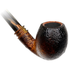 Neerup Classic Sandblasted Bent Egg Churchwarden (2)