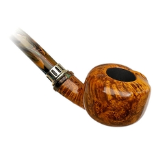 Neerup Classic Smooth Bent Pot Churchwarden (3)