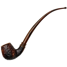 Neerup Classic Rusticated Bent Billiard Churchwarden (2)