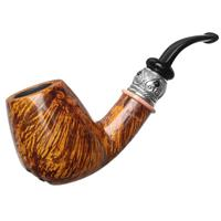 Neerup P. Jeppesen Handmade Boutique Smooth Bent Brandy with Silver (5)