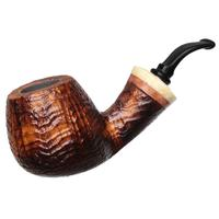 Neerup P. Jeppesen Handmade Ida Easy Cut Sandblasted Bent Billiard (4)