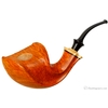Kent Rasmussen Smooth Bent Dublin with Plateau Silver and Masur Birch (Three Star)