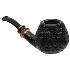 Kurt Balleby Sandblasted Bent Brandy with Karelian Birch