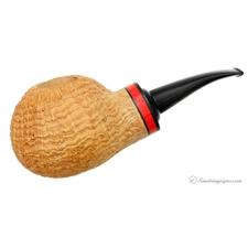 Rolando Negoita Sandblasted 'Conducta' Bent Apple with Tamper