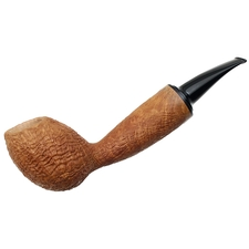 Rolando Negoita Sandblasted 'Conducta' Bent Egg with Tamper