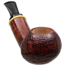 Gregor Lobnik Partially Sandblasted Bent Apple with Boxwood