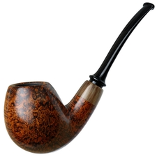 Gregor Lobnik Smooth Bent Egg with Horn