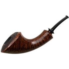 J. Alan Partially Sandblasted Modern Horn (1127)