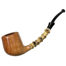 J. Alan Smooth Natural Bent Billiard with Bamboo (1179)