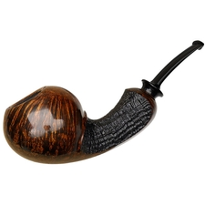 J. Alan Partially Sandblasted Bent Ball (1405)
