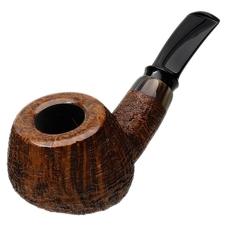 J. Alan Sandblasted Bent Apple with Horn (1409)