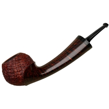 J. Alan Partially Sandblasted Bent Apple (1426)