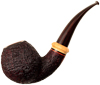 Brad Pohlmann Sandblasted Bent Ball with Boxwood