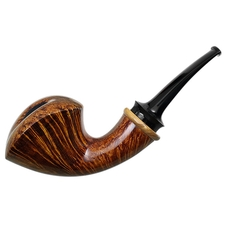 Brad Pohlmann Smooth Bent Dublin with Olivewood