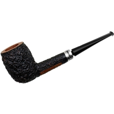 Castello Sea Rock Briar Billiard with Silver Stand (KKK)