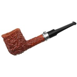 Castello Sea Rock Briar Billiard with Silver Snake Band (130/150)