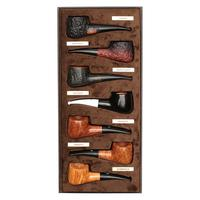 Castello Castello 7 Day Pipe Set (with Leather Box)