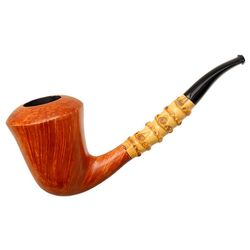 Johs Smooth Calabash with Bamboo