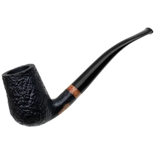 Johs Sandblasted Bent Billiard