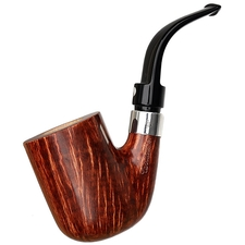 Claudio Cavicchi Brown Smooth Bent Billiard with Silver