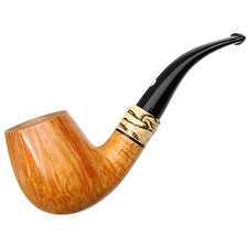 Claudio Cavicchi Smooth Bent Billiard with Spalted Tamarind (CCC)