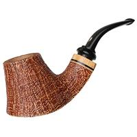 Claudio Cavicchi Brown Sandblasted Volcano with Olivewood
