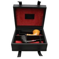 Claudio Cavicchi Bologna Two Pipe Set with Claudio Albieri Leather Presentation Box (04/05)