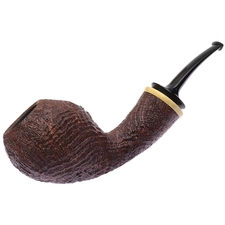 Adam Davidson Sandblasted Bent Egg with Boxwood