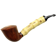 Luciano Smooth Bent Dublin with Bamboo (FH) (B***)