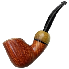 Luciano Smooth Bent Brandy with Locust Tree (FH) (C***)