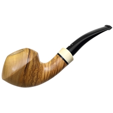 Luciano Smooth Olivewood Rhodesian (Grechukhin Design) (FH)