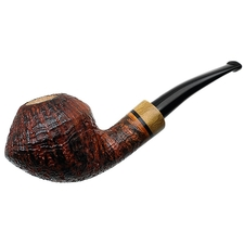 Luciano Sandblasted Rhodesian with Olivewood (Grechukhin Design) (FH) (S*)
