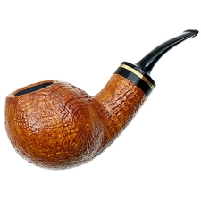 PS Studio Sandblasted Bent Egg with Zebrawood